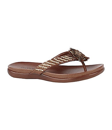 Kenneth Cole Reaction Glam Bake Flip Flops