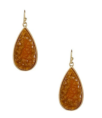 Anna & Ava Drusy Drop Earrings