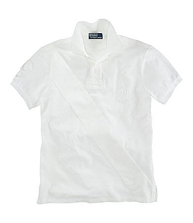 Polo Ralph Lauren Big & Tall Classic-Fit Pieced Mesh Polo