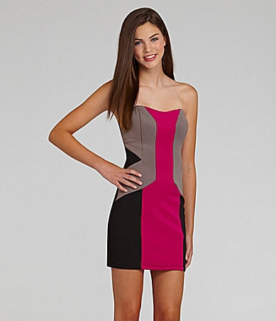 I.N. San Francisco Colorblock Dress