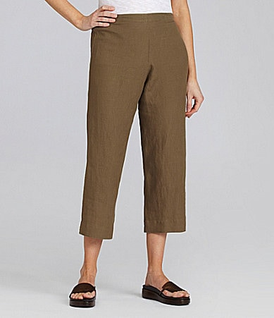 Bryn Walker Linen Capri Pants