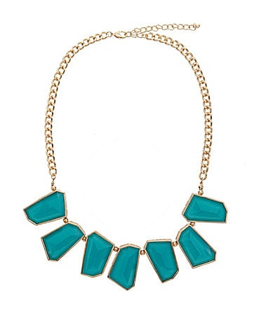 Anna & Ava Neon Geo Frontal Necklace