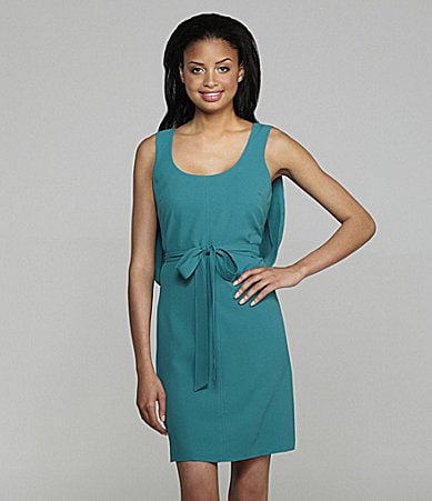 Vince Camuto Drape-Back Dress