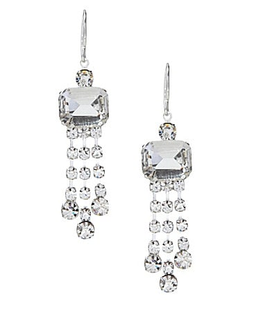 Cezanne Rectangle Chandelier Earrings