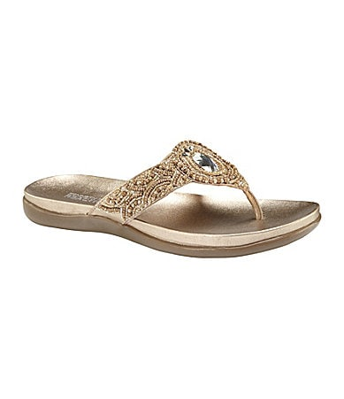 Kenneth Cole Reaction Women�s Glam Artist Metallic Sandals