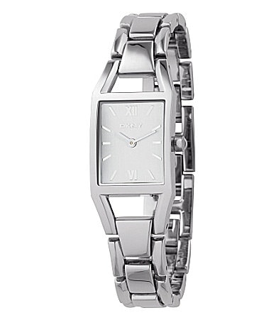 DKNY Ladies Silvertone Essentials Watch