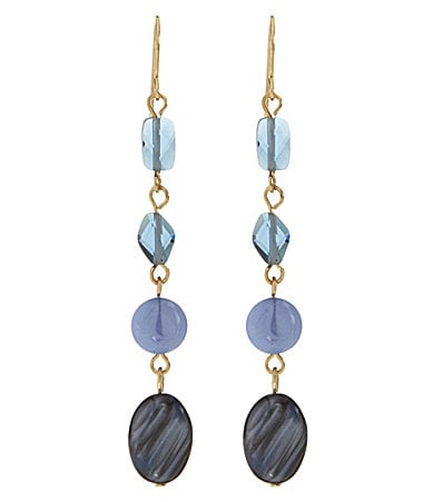 Lauren Ralph Lauren Cote D� Azur Linear Earrings