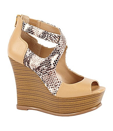 Jessica Simpson Leeza Wedge Sandals