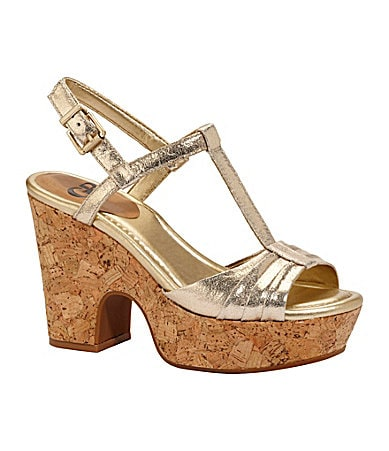 GB Gianni Bini Baby-Doll Wedge Sandals