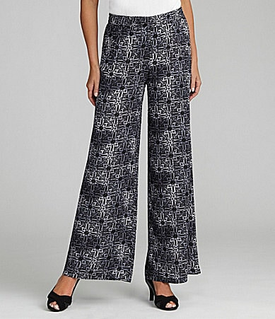 I.N. Studio Pull-On Wide-Leg Pants