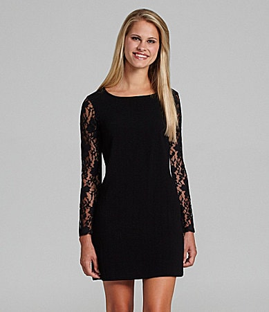 BCBGeneration Black Lace Dress