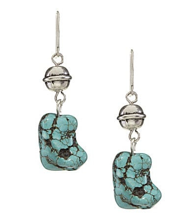 Lauren Ralph Lauren Canyon Road Turquoise Drop Earrings