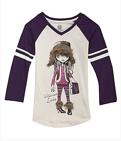 Jessica Simpson Tweenwear 7-16 Wilderness Girl Tee