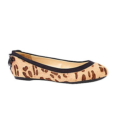 Gianni Bini Shelly Animal-Print Flats