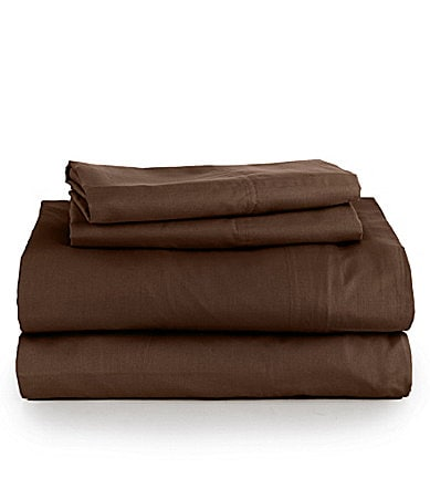 Noble Excellence 300-Thread-Count Percale Sheet Set