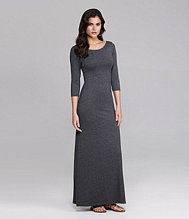 Gianni Bini Carmen Jersey Maxi Dress
