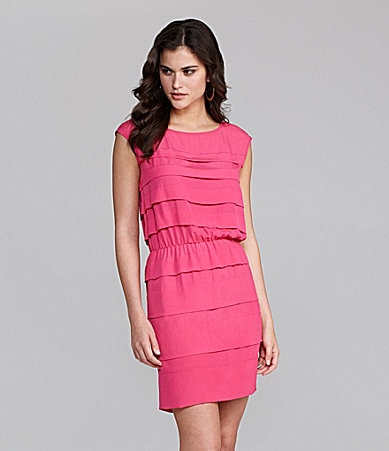 Gianni Bini Zariella Layered Panel Dress
