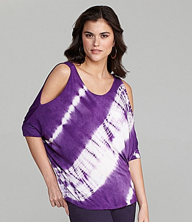 Gianni Bini Satchi Tie-Dye Knit Top