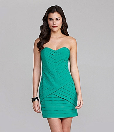 Gianni Bini Suella Tiered Strapless Dress