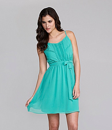 Gianni Bini Rachel Pintuck Dress
