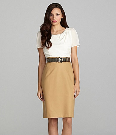 Antonio Melani Kim Short-Sleeve Dress
