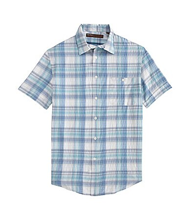 Perry Ellis Ombre Check Sportshirt