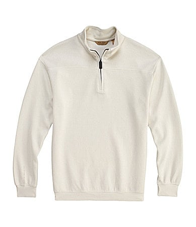 Roundtree & Yorke Gold Label Long-Sleeve Quarter-Zip Pullover