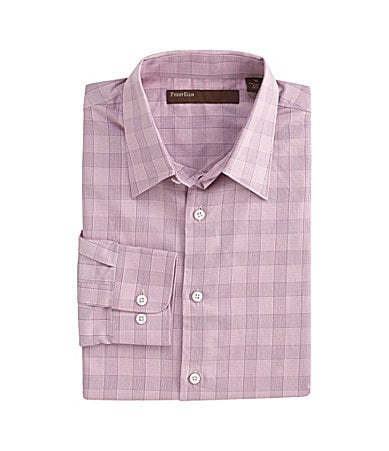 Perry Ellis Slim Big Check Sportshirt
