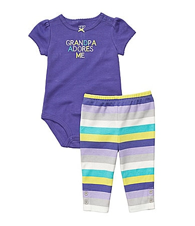 Carter�s Newborn Cute & Comfy 2-Piece Pant Set