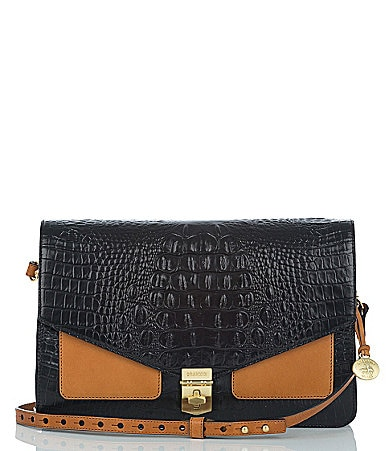 Brahmin Colorblock Nico Large Convertible City Clutch