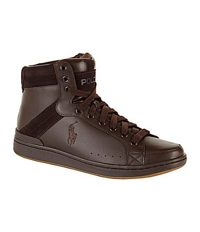 Polo Ralph Lauren Men�s Talbert Hi-Top Sneakers