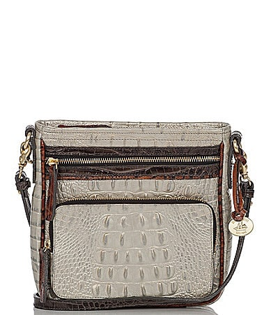 Brahmin Tri-Color Collection Cleo Cross-Body Bag