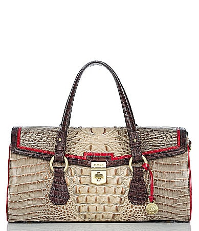Brahmin Tri-Color Collection Bridget Satchel
