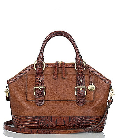Brahmin Travers Collection Dakota Satchel