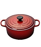 Le Creuset Signature 5.5 Quart Round Enamel Cast Iron French Oven