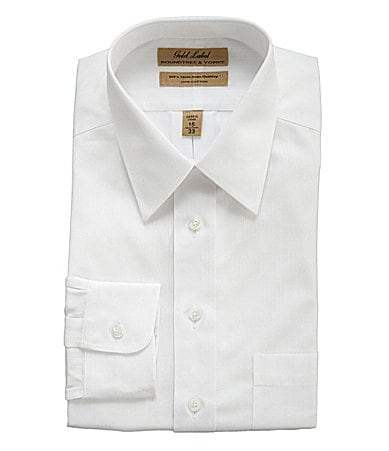 Roundtree & Yorke Gold Label Big & Tall Dobby Dress Shirt