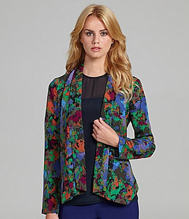Harper and Gray Printed Blazer