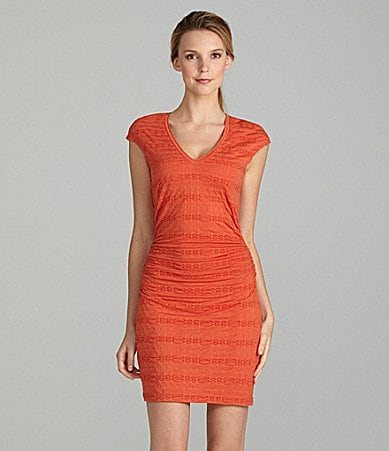 M.S.S.P. Textured Bodycon Dress
