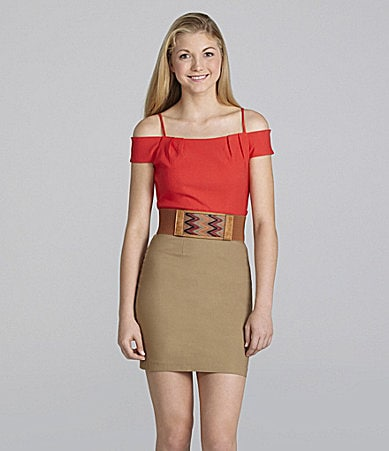Teeze Me Color Block Dress