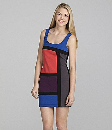 Teeze Me Colorblock Dress