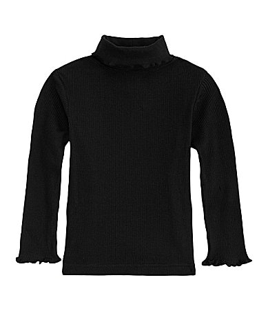 Copper Key  2T-6X Solid Turtleneck