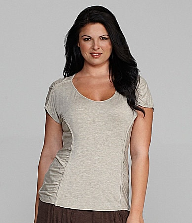 M.S.S.P. Woman Side-Ruched Top