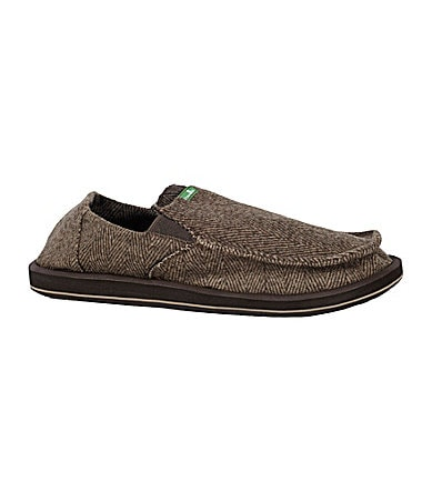Sanuk Men�s Pick Pocket Tutor Slip-On Shoes