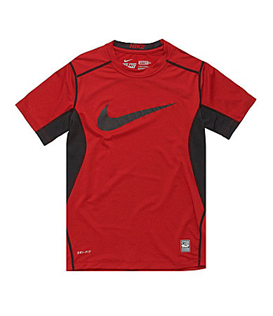 Nike 8-20 Core Fitted Swoosh Top