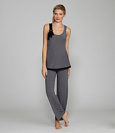 DKNY Crosby Street Bow Sleeveless Pajamas