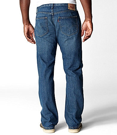 Levi�s Big & Tall 559� Range Relaxed-Straight Fit Jeans