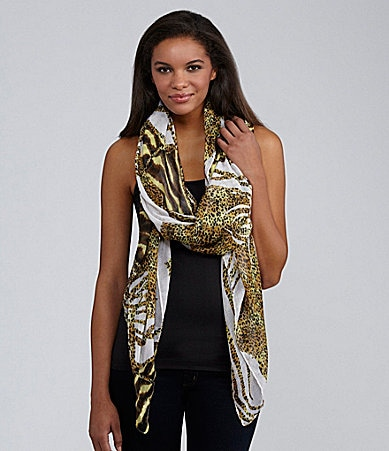 Natasha Accessories Safari Animal Oversize Scarf