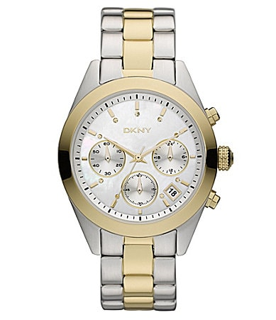 DKNY Ladies Two-Tone Watch