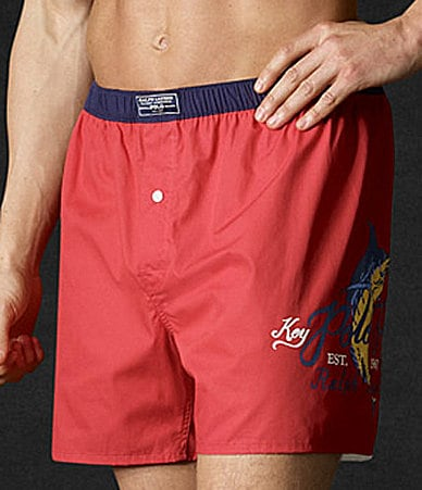 Polo Ralph Lauren Woven Cotton Boxer Short
