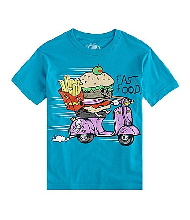 First Wave 8-20 Fast Food Screenprint Tee